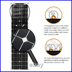 100W Watt flexible Solar Panel For Car Battery/Boat/Camping/RV With Controller