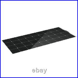 150/300W ETFE Solar Panel Monocrystalline Flexible withConnector Car Boat Camping