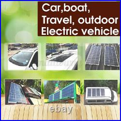 150W 18.68V 3.74A Flexible Solar Panel Controller For Car RV Boat Battery Charge
