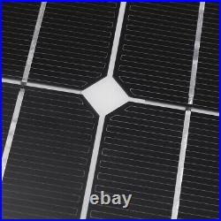 150W Flexible Solar Panel 12/24V Battery Charge Device Kit USB for Boat Home