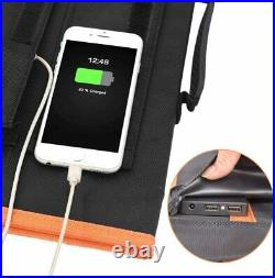 150W Portable Camping Outdoor Foldable Laptop Solar Panel Chargers With Cables