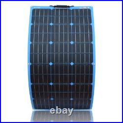 150W Portable Solar Panel mono flexible For Car Battery/ Boat/Camping/Charger/RV