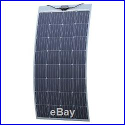 150W semi-flexible solar panel with self adhesive backing (made in Austria)