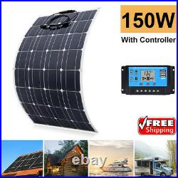 150w flexible Portable Solar Panel for RV/Camping/Power station Boat Controller