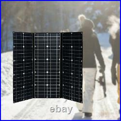200W Foldable Portable Solar Panel for RV/Camping/Power Station/Outdoor Home