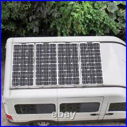 200W Watt Solar Panel Mono 12V/24 Volt for Off Grid RV Boat Battery Charge