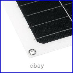 250W Flexible Solar Panel Battery Power Charger Marine Boat Campin