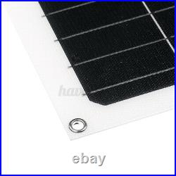 250W Flexible Solar Panel Battery Power Charger Marine Boat Camping Waterproof