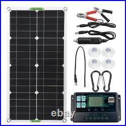 250W Solar Panel Kit 12V battery Charger 10A-100A with Controller Caravan Boat