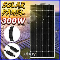 300/150W ETFE Solar Panel Monocrystalline Flexible withConnector Car Boat Charging
