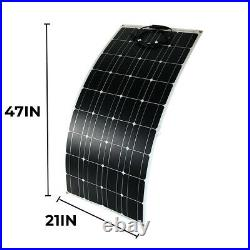 300W 18V Portable Solar Panel For Caravan Camping/Power Station/Emergency Charge