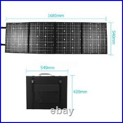 400W 12V USB Foldable Solar Panel Battery Charger & 10A Controller For