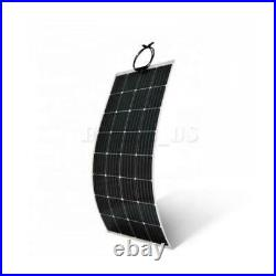 44.5'' 340W 18V Flexible Solar Panel Battery Charger Marine Boat RV Camping DHL