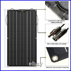 500W 18V ETFE Flexible Solar Panel Kit High Efficiency For Yacht Home Camping
