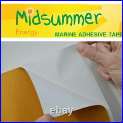 50m Roll Marine-Grade Self-Adhesive PVC Tape 50With100With150W Semi Flexible Panel
