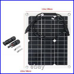 600With300W 18V Monocrystalline Solar Panel Kit For Battery Charger Car Yacht Boat