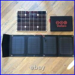 Arc 20W Folding Solar Panel, Perfect for Hiking, Travel, Expeditions