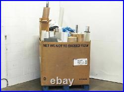 Assorted PV Film 1010 Pounds of Solar Panel Cell Encapsulation Material Rolls