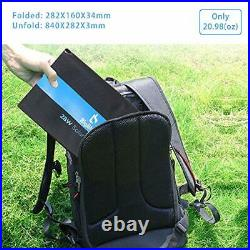 BigBlue 28W Solar Charger Foldable Outdoor Solar Powered Charger