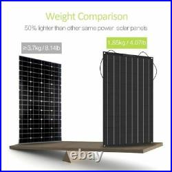 Durable Flexible Solar Panel 200w With 12v/24v 20a Controller Module Charger New