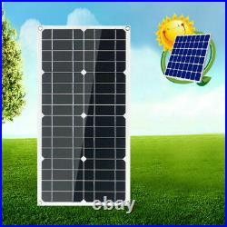 ESOLAR-100W 12V Mono Flexible Solar Panel With20A Controller For Car Phone Charge