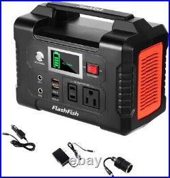 FlashFish 200W 40800mAh Portable Solar Generator and Power Station for CPAP