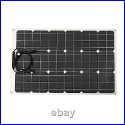 Flexible Solar Panel Backup Power 18V 180W Battery Charger Boat RV Car Camping