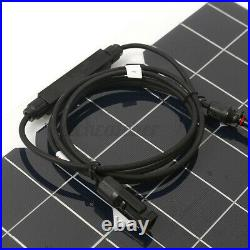 Flexible Solar Panel Power 18V 180W Battery Charger Marine Boat RV Car Camping