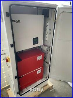Grid Connected Solar System 5 KW SOLAX inverter 4x 12V 190AH battaries pre wired
