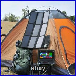 KYNG Solar Charger SunPower Mobile Solar Panel USB Ports for iPhone Tablet