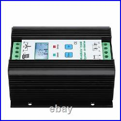 LCD 800W PWM Wind Solar Booster Charge Controller, 12/24V Overload Protection