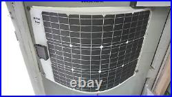 Marine Solar Panels 50W Semi Flexible IP68 for Boat Yacht and Caravan MB SOLAR
