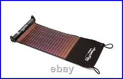 New Solarmade PowerFilm LS-1 LightSaver USB Roll-up Solar Charger