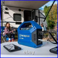 PORTABLE POWER Station Android Apple Solar AC/DC Charge 150W EMERGENCY GENERATOR