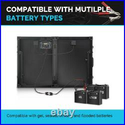 Renogy Foldable Solar Suitcase Kit 100W Mono with PWM 20A Charge Controller