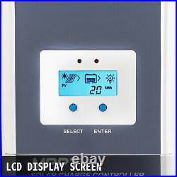 Solar Charge Controller, MPPT Charge Controller, 40 Amp, Solar Panel Controller