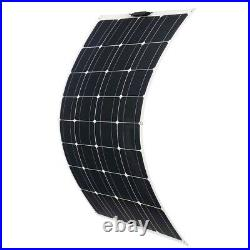 Solar Panel 1000W 500W Portable Solar Cells Bank Outdoor Car 18V RV Boat Charger