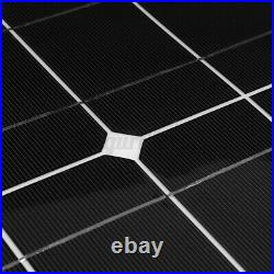 Solar Panel 12V 200W Flexible Portable For Home Camping traveling Outdoor Hiking