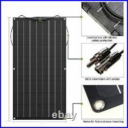 Solar Panel Battery Charger Cell Kit Complete Flexible Portable Rechargeable New