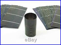 Solopower 1.25 Watts Lightweight Thin Flexible CIGS Solar Cell Lot of 100