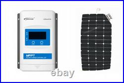 Sunbeamsystem 100W Solar Panel Flexible Accessible With Charge Photovoltaic