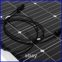 US 44.5'' 340W 18V Flexible Solar Panel Battery Charger Marine Boat RV Camping