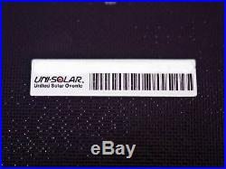 Uni-Solar PVL-128 UL LISTED Carton 30 128W Solar Panels -Solder Points No Cables