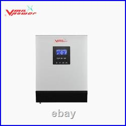Vmaxpower 5kw 48vdc Pure sine wave solar inverter MPPT hybrid-with parallel card